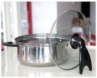 Wholesale DIY Vertical Lid Handle Stand Cookware Tools Kitchen Gadgets
