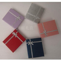 Wholesale x x cm Big Size Silver Jewelry Packaging Jewelry Box Paper Box