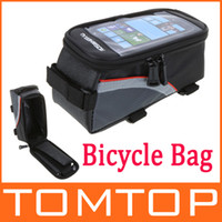 Wholesale 5pcs set Outdoor Cycling Sports bag Bike Bicycle pannier Frame Front Tube Bag for Cell Phone PVC H9401 Series