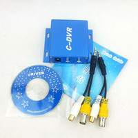 Wholesale Hot NEW Surveillance camera adapter CCTV mini DVR C DVR TF card recorders support GB SD card