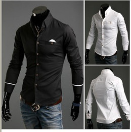 Wholesale High Quality Men s Slim New Style Casual Shirt