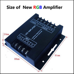 12V 24V DC 288W 24A RGB LED Amplifier Controller for LED Strip Light