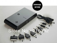 Wholesale 20000mAh portable Power Bank External Battery pack charger for SAMSUNG Galaxy SIII S3 i9300 Galaxy