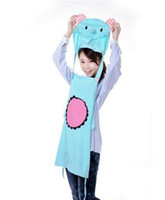 Wholesale New Cute Sexy Furnishing Kitchen Cooking cartoon cute aprons Hooded anti smoke Aprons