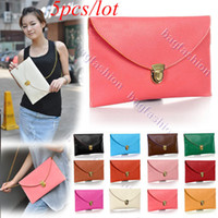 Wholesale 5pcs Womens Envelope bag Clutch Chain Purse Tote Shoulder Handbag and re