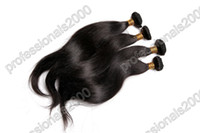Wholesale Grade A Brazilian Virgin Human Hair Weft Weave Extensions Dyeable Unprocessed Hair Wefts g pc Natural Wave Natural Color