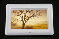 Wholesale New inch white LCD display digital photo frame album MP3 MP4 TV out