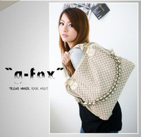 Wholesale Special Offer Summer new Hand woven chain shoulder bag Three ways handbag Four colors Free Sh