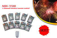 Wholesale 200M MH T500 wireless remote control firing system channels receivers fireworks machine fireworks control