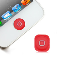 Wholesale Muti color Plastic Home Button Key Replacement Parts For iPhone G High Quality