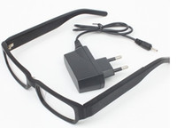 Wholesale Wireless Bluetooth Glasses without Spy Earpiece HK Post Black