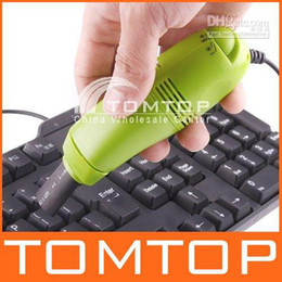 Wholesale MINI USB VACUUM KEYBOARD CLEANER for PC LAPTOP Retail TASJ10