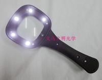 Wholesale LED Glasses Loupe Lens Eye Jeweler Magnifier with led glass Electronic led loupe Magnifying