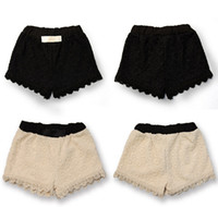 2013 Girls Shorts Retro Fashion Trend Lace Shorts Girls Shor...