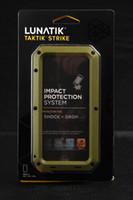 Wholesale Perfect sale Lunatik Taktik STRIKE Plastic amp TPU CASE For iphone G retail box