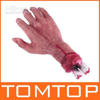 halloween props - April Fool s Day Props Scary Bloody Hand Latex for Halloween Props H4119