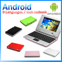 laptop Android 2. 2 7 inch VIA 8650 webcams 9 languages lwifi...