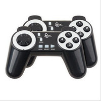 Wholesale Curved btp c027 co27 small doubles computer game controller single interface double handle game machine