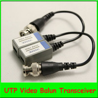 Wholesale 5pairs Single channel Passice Video Balun Video Transceiver Twisted Pair