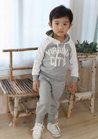Spring / Autumn children apparel - Autumn Baby Clothing Set Child apparel kids Wear infant Garment sport clothing Kids Suit