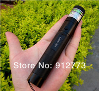 Wholesale professional powerful power military m nm Green Red Blue Violet laser pointer lazer light with focus burning wood matchs cigarettes