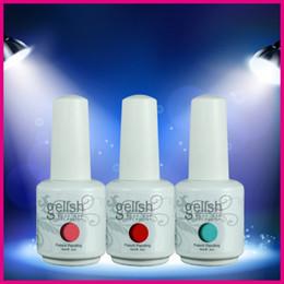 Wholesale 2014 New Arrival Brand New Nexu Gelish Soak Off UV LED Nail Gel Polish New Colors ml ML Factory