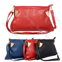 Plain low price handbags - New Fashion Low Price Women s Simple Synthetic Leather Dinner Bag Purse Handbag Colors