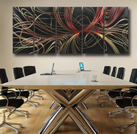 Cheap Metal Metal wall art sculptures Best Carved  Abstract modern paintings