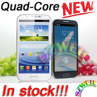 Wholesale MTK6589 N7100 S7189 Quad Core GHz Android G Cell Phone ROM GB RAM1GB Dual Sim GPS with inch