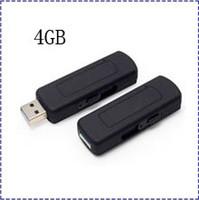 Wholesale UR09 GB USB disk Voice activated audio recorder spy camera u disk voice recorder U flash audio recorder Hot selling
