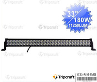 Wholesale 180w LED off road light bar w super bright led work light lamp for x4 Jeep SUV ATV WD V DC