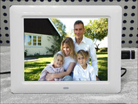 Wholesale New inch white HD LCD display digital photo frame album MP3 MP4 Resolution x600