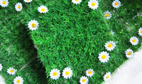 Wholesale Artificial plastic grass mat Simulation grass mat wedding home garden decoration