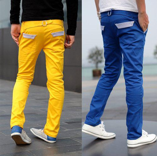 New Arrival Men's Casual Slim Pants /mens Casual Straight Trousers ...