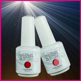 Wholesale Free DHL TNT EMS Shipping ml Gelish Soak off UV Gel Nail Polish Fashion Colors Available