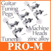 Wholesale 6pcs set Chrome Guitar Tuning Pegs Guitar Tuners Guitar Machine Heads I52