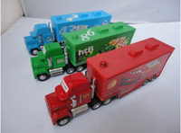 Wholesale Mack hauler MACK TRUCK Chick Hick Pixar Car Cars Thai Lightning car Kid Toy Colors Dropship