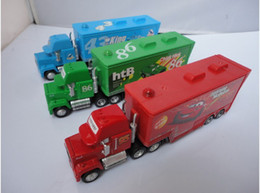 Wholesale Mack hauler MACK TRUCK Chick Hick Pixar Car Cars Thai Lightning car Kid Toy Colors Dropship