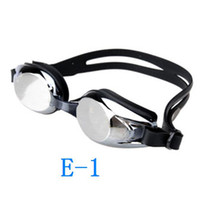 Wholesale Swimming Goggles Glasses Anti fog Electroplating glasses PC Lens Silicone Swim Glasses Unisex