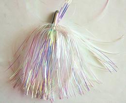 23g Fishing Lure Trolling Bait Fishing Lure Fishing Tackle Metal Head Synthetic Glass Fiber Skirt