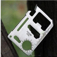 Multi Tools Pocket, Multi Tools Survival Knife Brand New 11 in 1 Multifunction Multi Credit Card Survival Knife Camping Tool