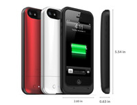 For Apple iPhone Direct Chargers  Original 1:1 air 1700mAh External Backup Battery Case for iPhone 5 5G DHL EMS Free Shipping