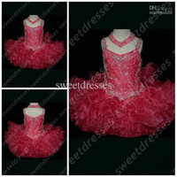 Wholesale Grand Little Rosie Rhinestone Covered Glitz Pageant Gowns OX566