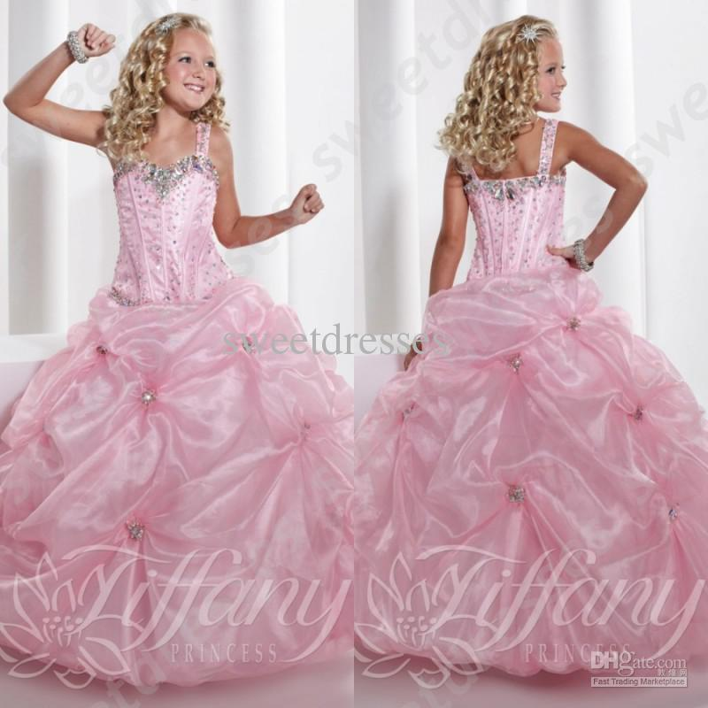 Simple Little Girls Pageant Dresses Online | Simple Little Girls ...
