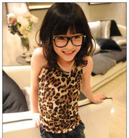 Wholesale Child Printed Tank Tops Fashion Summer Vest Children Condole Belt Kids Tank Tops Sleeveless T Shirt