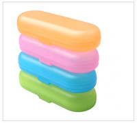 Wholesale Hot Sale Portable Anti bacteria Storage Box Toothbrush Box