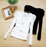 Wholesale women s lady girl s spring summer autumn winter lace shirt hoodies