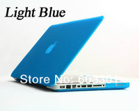 Wholesale Matte Case Cover for macbook pro quot laptop Hard case shell protector for macbook many color