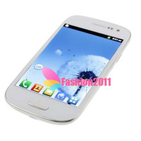 "4. 8 "" 1: 1 i9300 Phone Quadband GSM Android 4. 0 Wifi Dua..."