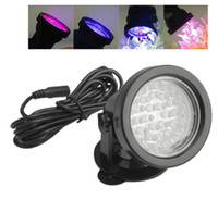 Wholesale LED Multi Color Spot Light Garden Pond Pool Aquarium Submersible Underwater